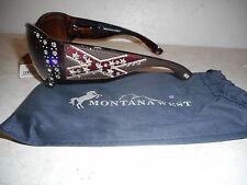 Montana West Rebel Sunglasses w/ UV400 Protection - Leopard Print - NEW