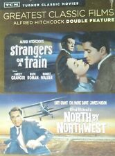 2 Hitchcock Classics North By Northwest Cary Grant Strangers on a Train Sealed