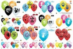 """Qualatex Licensed Children's Character Kids Birthday 11"""" Latex Helium Balloons"""