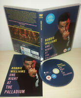 ROBBIE WILLIAMS - ONE NIGHT AT THE PALLADIUM - DVD
