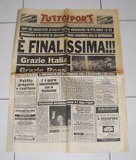 Tuttosport MONDIALI SPAGNA 1982 semifinale ITALIA POLONIA 2-0 World cup 9 luglio