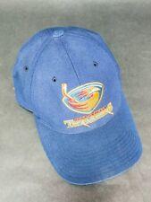 Atlanta Thrashers Mens Adult Adj Blue Cap Hat old Winnipeg Jets snap back VTG