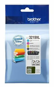 GENUINE BROTHER LC3219XL MULTIPACK CMYK ink cartridges J5330DW J6930DW