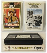 """CHARLIE CHAPLIN """"LE DICTATEUR"""" The Great Dictator VHS [SECAM] French Subtitles"""