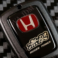 NEW JDM H MUGEN KEY FOB COVER FOR HONDA ACCORD CIVIC CRV JAZZ FIT ODYSSEY HRV