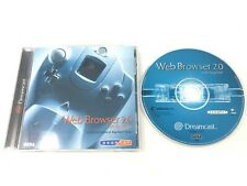 Web Browser 2.0 w/ Sega Net Sega Dreamcast Complete