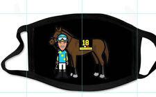 AMERICAN PHAROAH FACE MASK HORSE RACING JUSTIFY ZENYATTA CALIFORNIA CHROME (12)