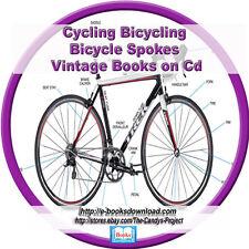 Bicycles Cycling Learning Manuals Wheeling Wheelman Bearings  200+ Books 2 dvd