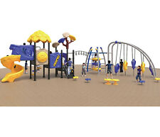 45x30x12 Playground & 2,750 sqft EPDM Flooring Package Special #8 We Finance