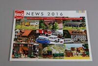 ZC3794 Busch catalogue maquette diorama train nouveaute 2016 48 page 30x21cm D