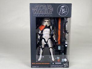 "Hasbro Star Wars Series 6"" - Orange Line - #3 Sandtrooper"