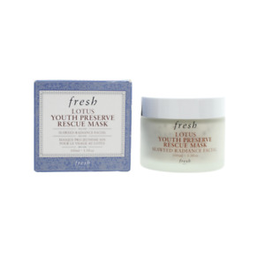Fresh Face Mask Lotus Youth Preserve Rescue Mask 100ml Seaweed Facial