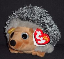 TY SPIKE the HEDGEHOG BEANIE BABY - MINT with MINT TAG - NEW 2015 VERSION