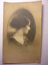Antique Bulgarian Postcard Young Girl Photo Lovech 1910