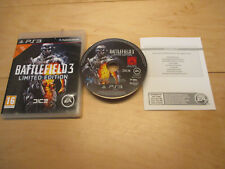 PS3 Battlefield 3 LIMITED EDITION TOP OVP Komplett x