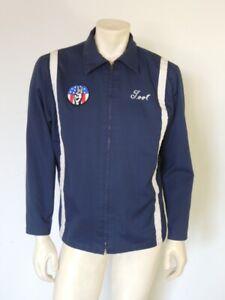 Vintage 1970s Hamm's Beer Uniform Delivery Driver Jacket Size MED LRG