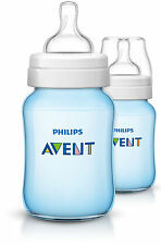 Philips Avent SCF684 27 Classic Feeding Bottle Bottles Blue 260ml