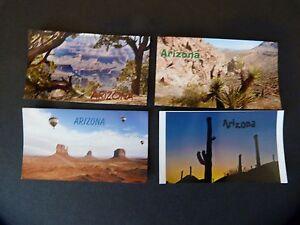 "24 Fridge Magnets, wholesale lot,  3 1/2 x 2"" Arizona themed scenes"