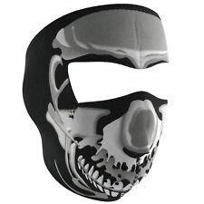 Zan Headgear Neoprene Full-Face Mask, Chrome Skull