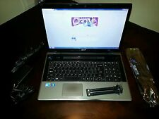 "Acer Aspire AS7745-7949 17.3"" (500 GB, Intel Core i3 1st Gen., 2.4 GHz, 4 GB)..."