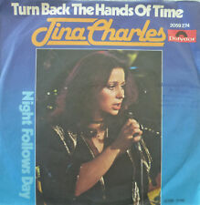 """7"""" 1980! TINA CHARLES Turn Back The Hands Of Time /VG+"""