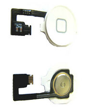 iPhone 4 4G Menu Home Button Key Cap Internal Flex Cable Assembly White UK