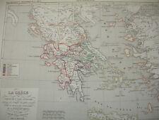 LA GRECE & L'ASIE MINEURE retour des Héraclides/invasion des Doriens 1190 av JC