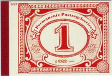 Prestigeboekje.nummer 27 Dag van de postzegel