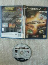 43786 Motorsiege Warriors Of Primetime - Sony PS2 Playstation 2 (2003) SLES 5160