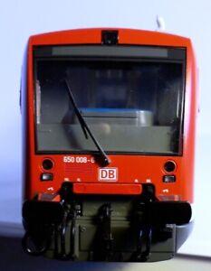 Roco 63180 = Triebwagen Regioshuttle RS 1 REGIO DB 650 008 + SOUND + OVP