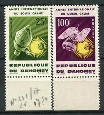 Dahomey 1964 Mi. 244-245 Nuovo ** 100% Spazio