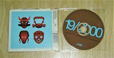 GORILLAZ 19/2000 RARE CD SINGLE