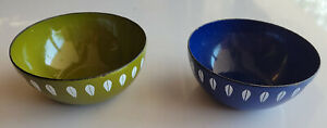 2 CATHRINEHOLM Small Bowls- Good Condition- Norway- Enamelware