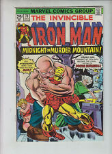 "IRON MAN #79  Marvel 1975  ""Midnight on Murder Mountain""  GEORGE TUSKA art"