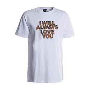 K1X Hoop Love Tee Men's White Orange Black Sportswear Athletic T-Shirt Top