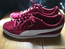 Puma Suede Classic.. Pre Owned Size 13 Cabernet White..Good Condition