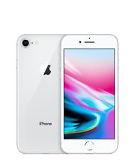 Apple iPhone 8 256GB Silver (Fully Unlocked) - 4G LTE iOS - VERY GOOD B+