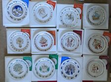 More details for spode china christmas plates full set of 12  1970 - 1981