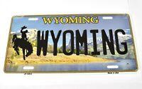 De Ee Uu Wyoming Coche Matrícula Licencia Plate Decoración Letrero Metal Vaquero