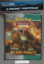 Pokemon  4 pocket  album - binder HS UnLeashed original near mint
