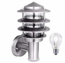 Nartel Ip44 Stainless Steel Garden Wall Lantern / Bollard