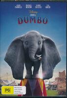 Disney DUMBO DVD NEW Region 4 Colin Farrell Michael Keaton Danny DeVito