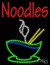 """Brand New """"Noodles"""" w/Logo 26x20 Solid/Animated Led Sign W/Custom Options 21755"""