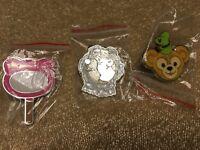 Lot Of 3 Hidden Mickey Disney Parks Trading Pins Duffy Baloo