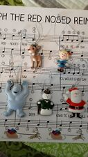Rudolph the Red Nosed Reindeer and friends ornaments by Character Arts