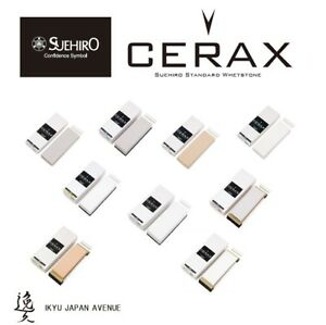 Suehiro Stone, Super High Grade Ceramic Whetstone; CERAX Grit #320-#8000 *F/S*