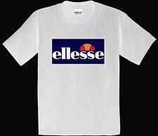 Ellesse Mens Arameo Logo New Design Men's Black / White  T-shirt S-3XL T16