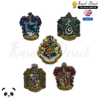 Harry Potter Gryffindor,Ravenclaw Hufflepuff Embroidered Sew/Iron On Patch Badge