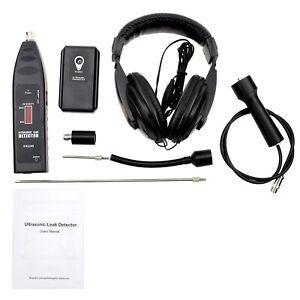 Handheld Leak Detector Pro Ultrasonic Sensor Transmitter Vacuum System Diagnose
