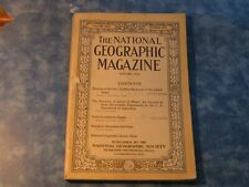 ANTIQUE NATIONAL GEOGRAPHIC January 1913 LIGHTHOUSES Syria BINGHAM MACHU PICCHU